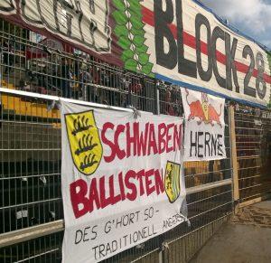 Banner in Darmstadt